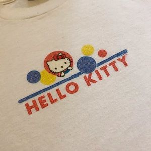 Hello Kitty vintage Sanrio shirt. 1999